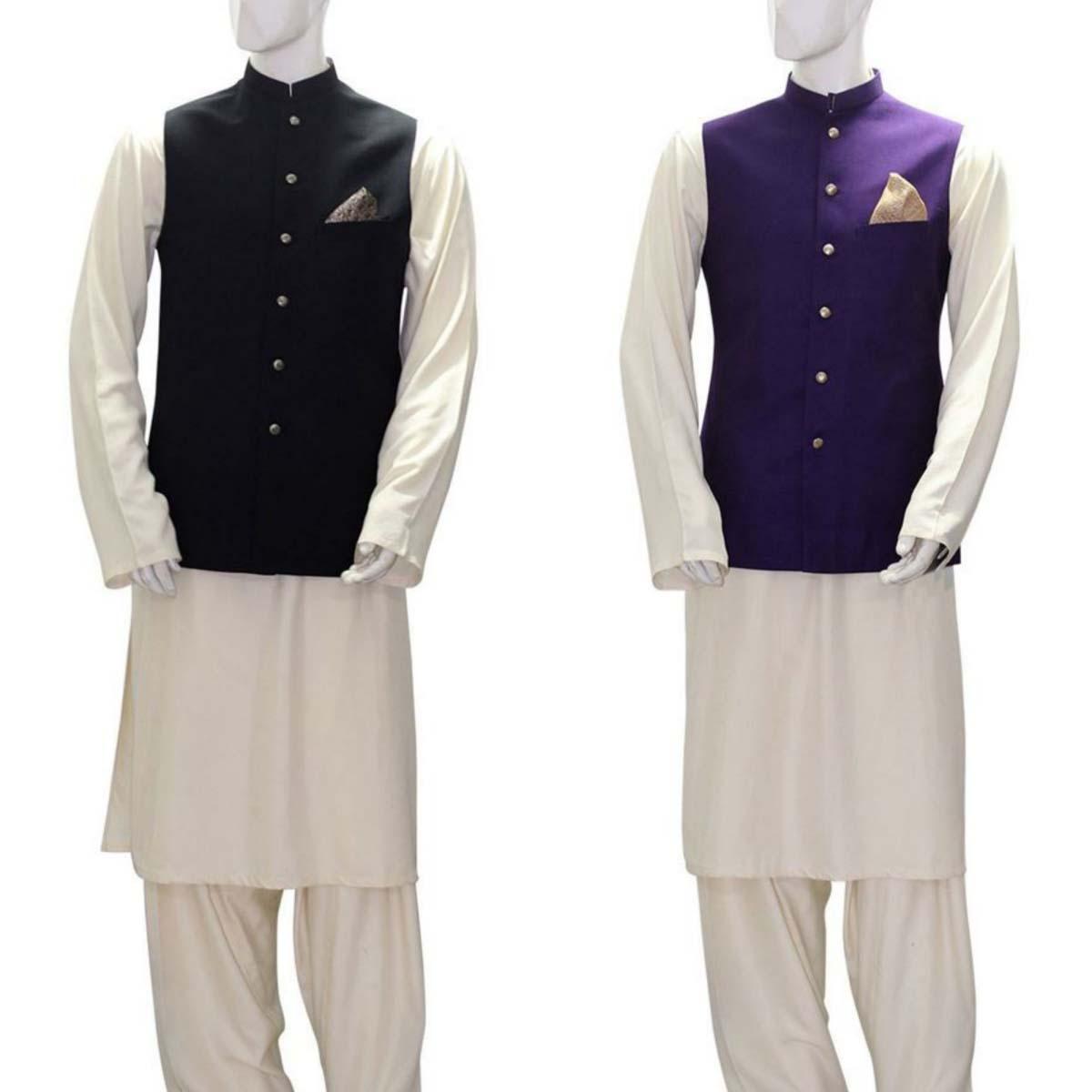 Deepak perwani Luxury Pret Eid Collection for Men and Women 2016-2017 (10)