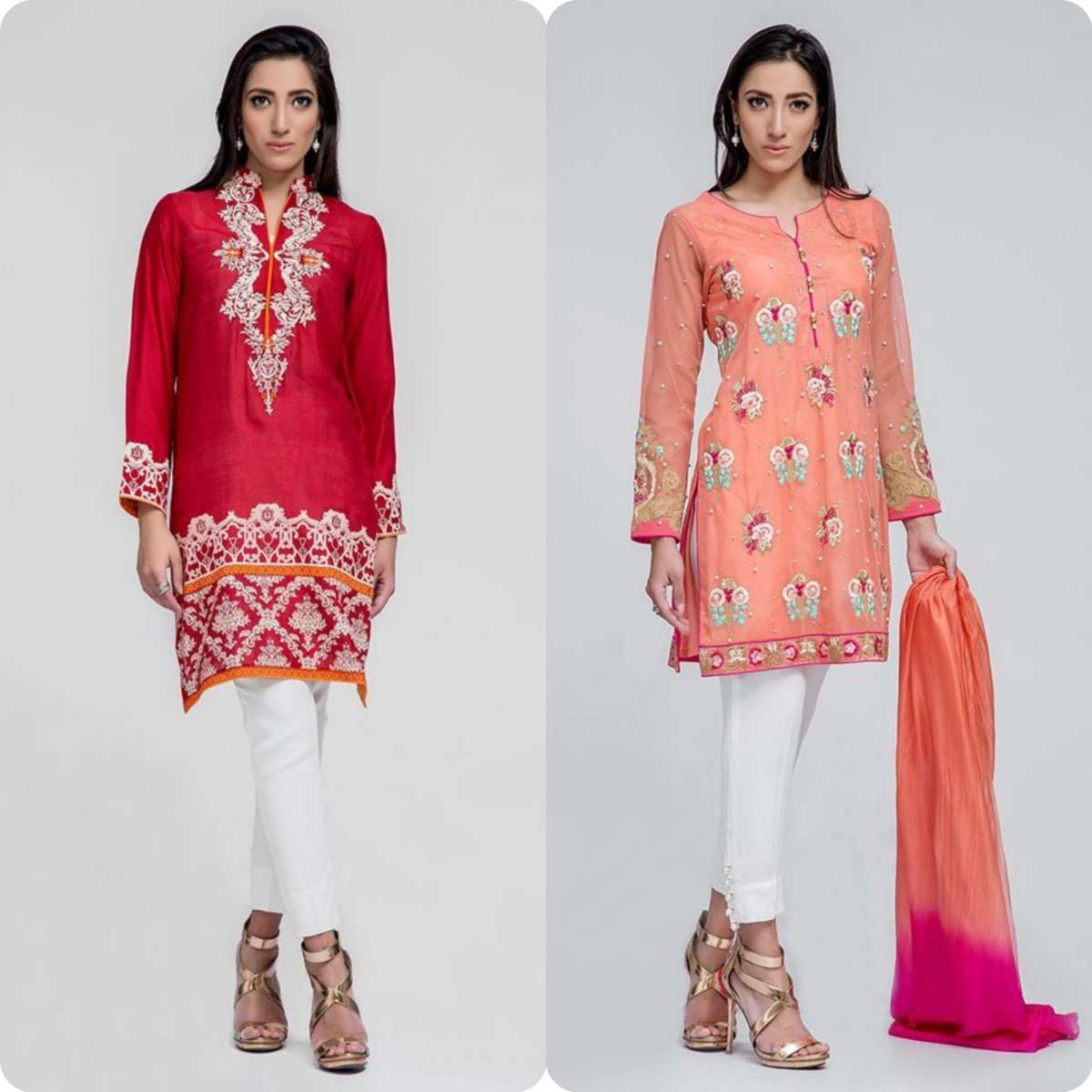 Deepak perwani Luxury Pret Eid Collection for Men and Women 2016-2017 (16)