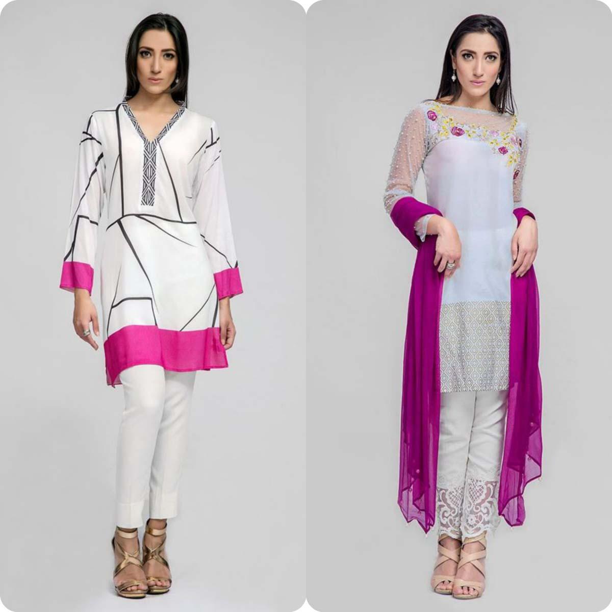 Deepak perwani Luxury Pret Eid Collection for Men and Women 2016-2017 (2)