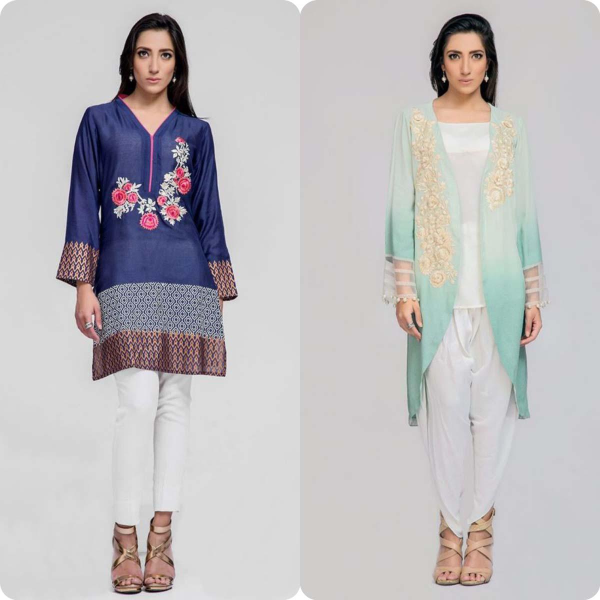 Deepak perwani Luxury Pret Eid Collection for Men and Women 2016-2017 (3)