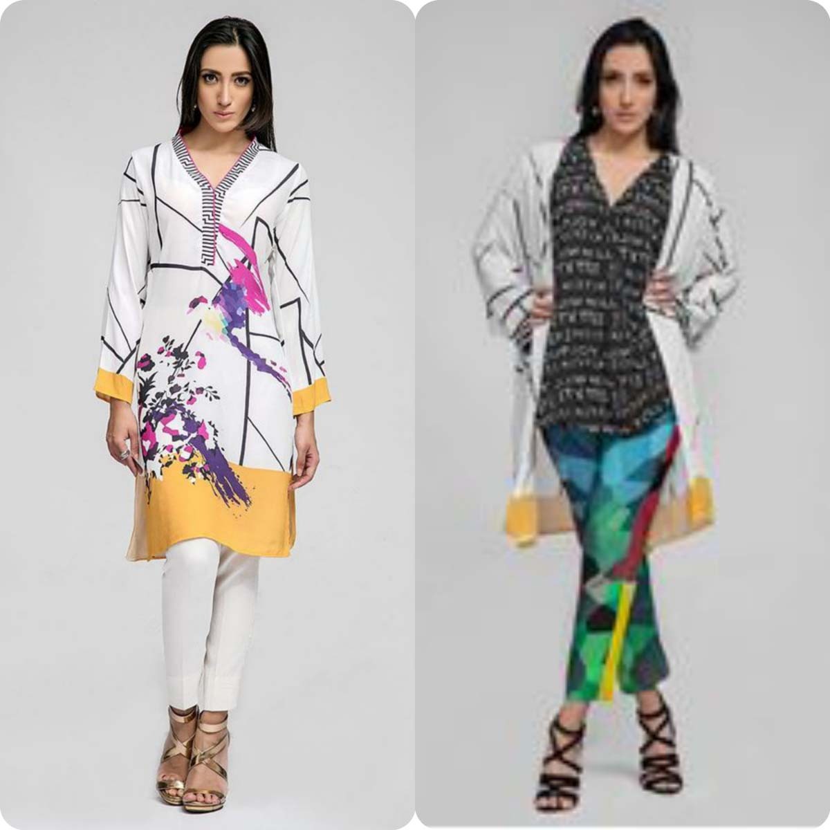 Deepak perwani Luxury Pret Eid Collection for Men and Women 2016-2017