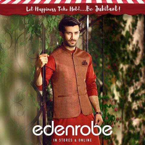 Eden Robe Festive Eid Collection for Men and Women 2016 (17)
