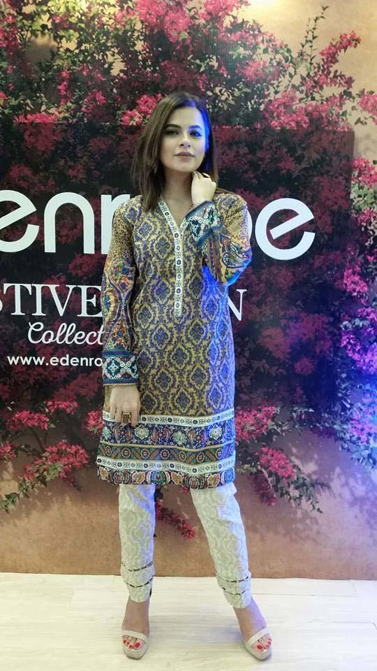 Eden Robe Festive Eid Collection for Men and Women 2016 (4)