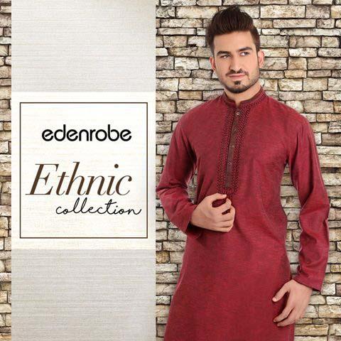 Eden Robe Festive Eid Collection for Men and Women 2016 (8)