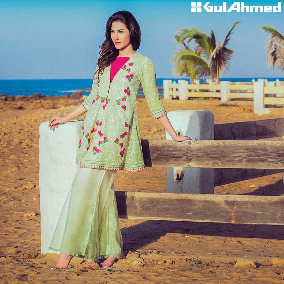 Gul Ahmed single shirt dresses