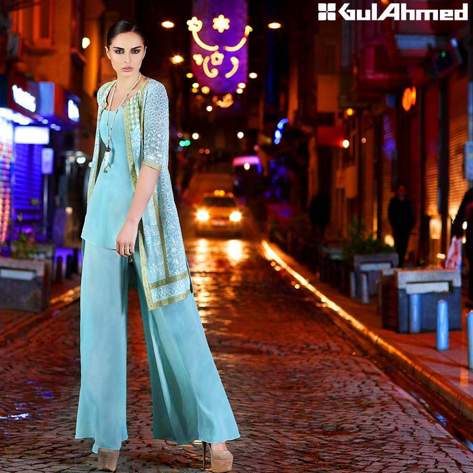 Gul Ahmed Festive Eid 2016 Embroidered Singles Collection (10)