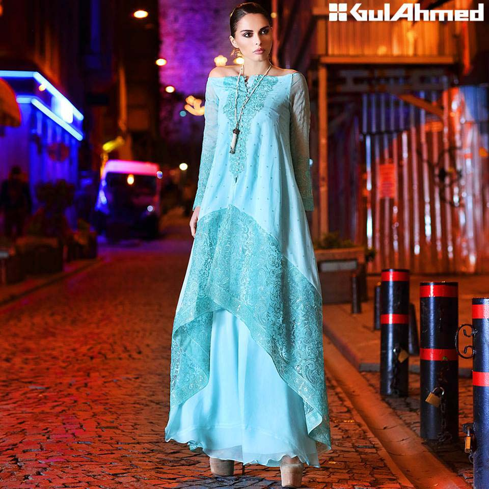 Gul Ahmed Festive Eid 2016 Embroidered Singles Collection (2)