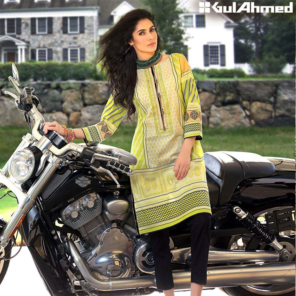 Gul Ahmed Festive Eid 2016 Embroidered Singles Collection (6)