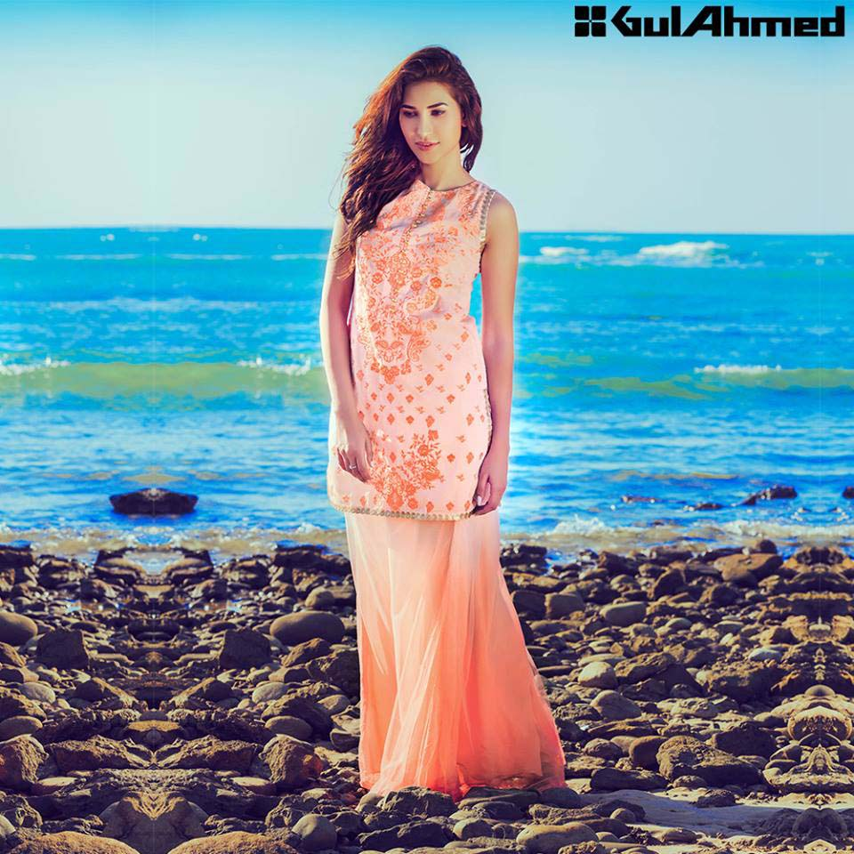 Gul Ahmed Festive Eid 2016 Embroidered Singles Collection (7)