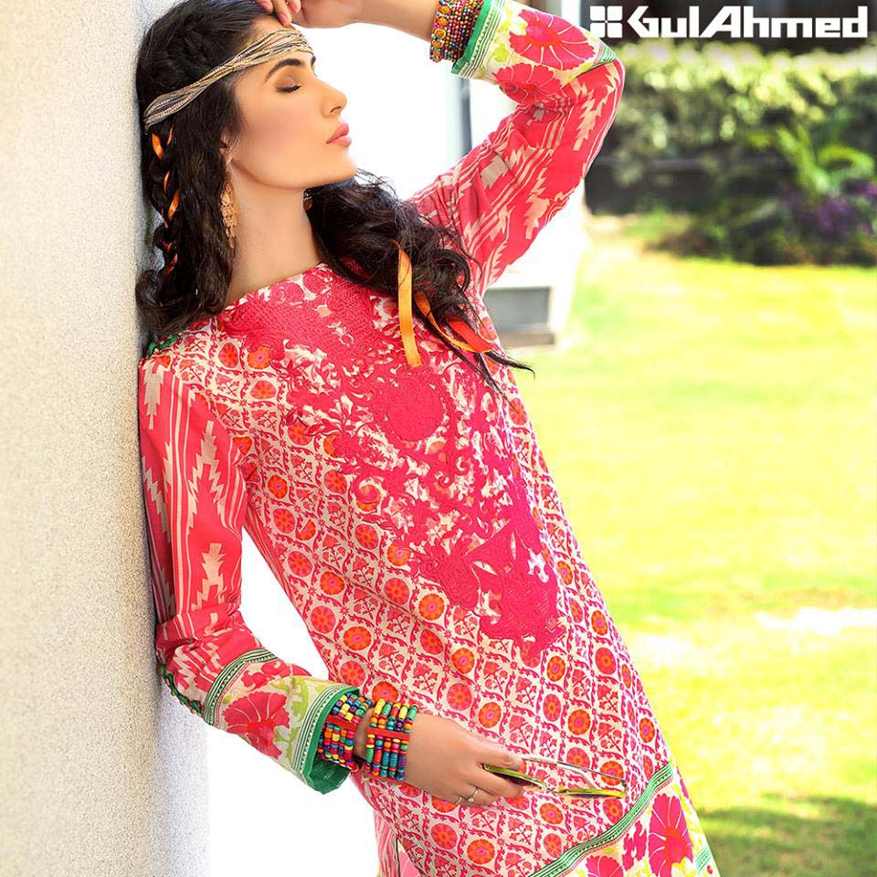 Gul Ahmed Festive Eid 2016 Embroidered Singles Collection (9)