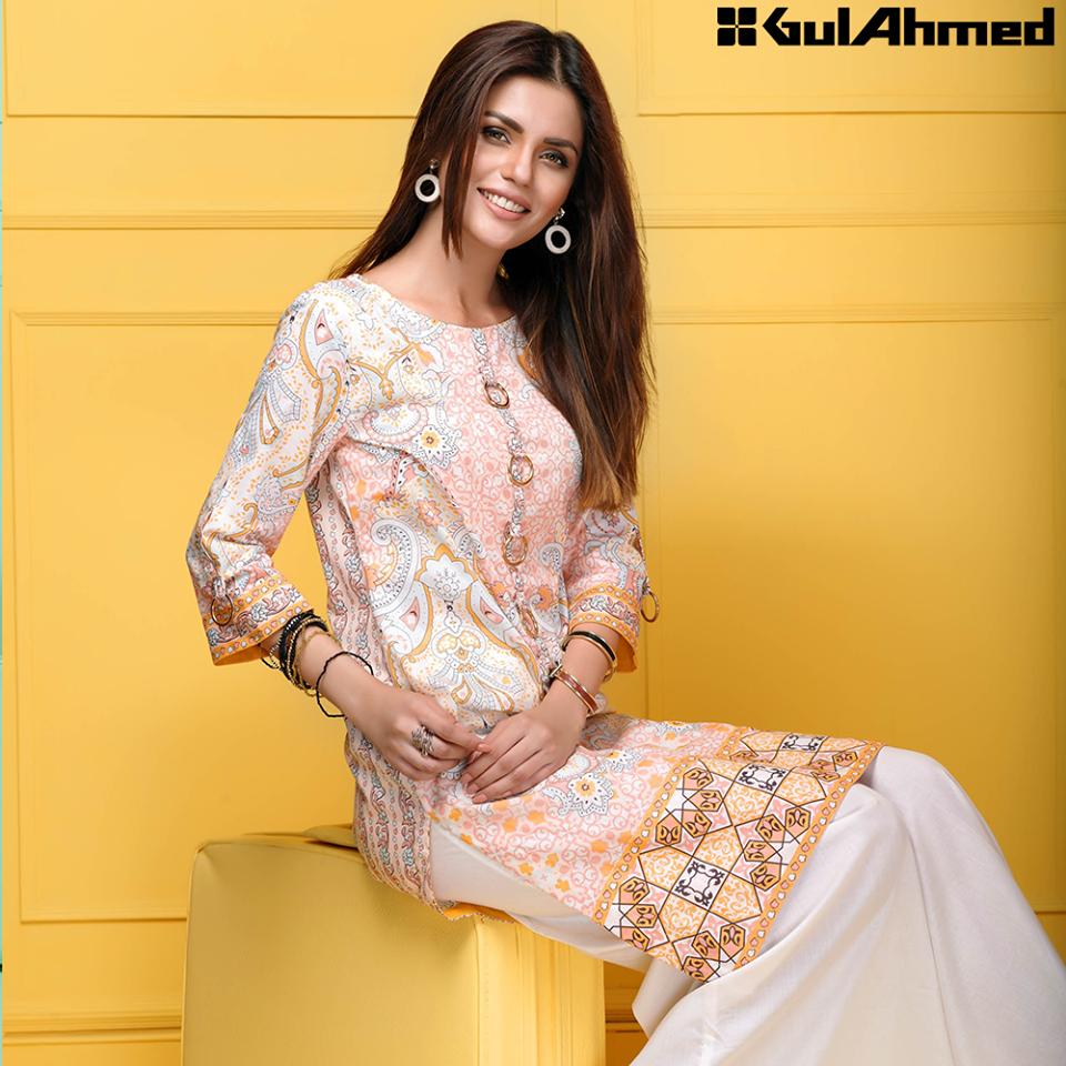 Gul Ahmed Festive Eid 2016 Single Shirts Collection (3)