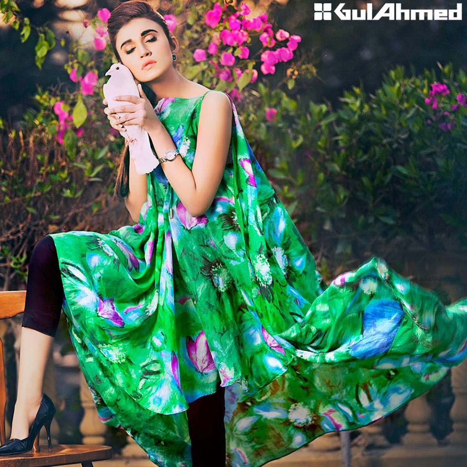 Gul Ahmed Festive Eid 2016 Single Shirts Collection (4)