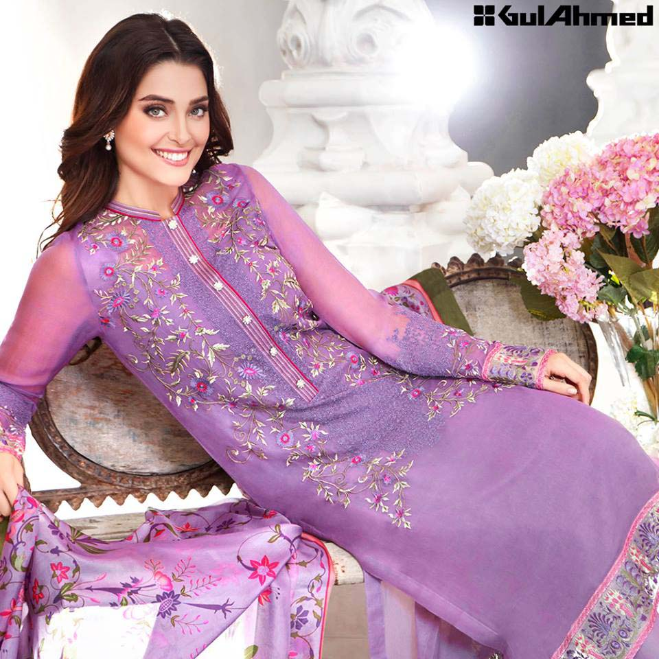 Gul Ahmed Festive Eid 2016 Trencia Satin Silk Collection (14)