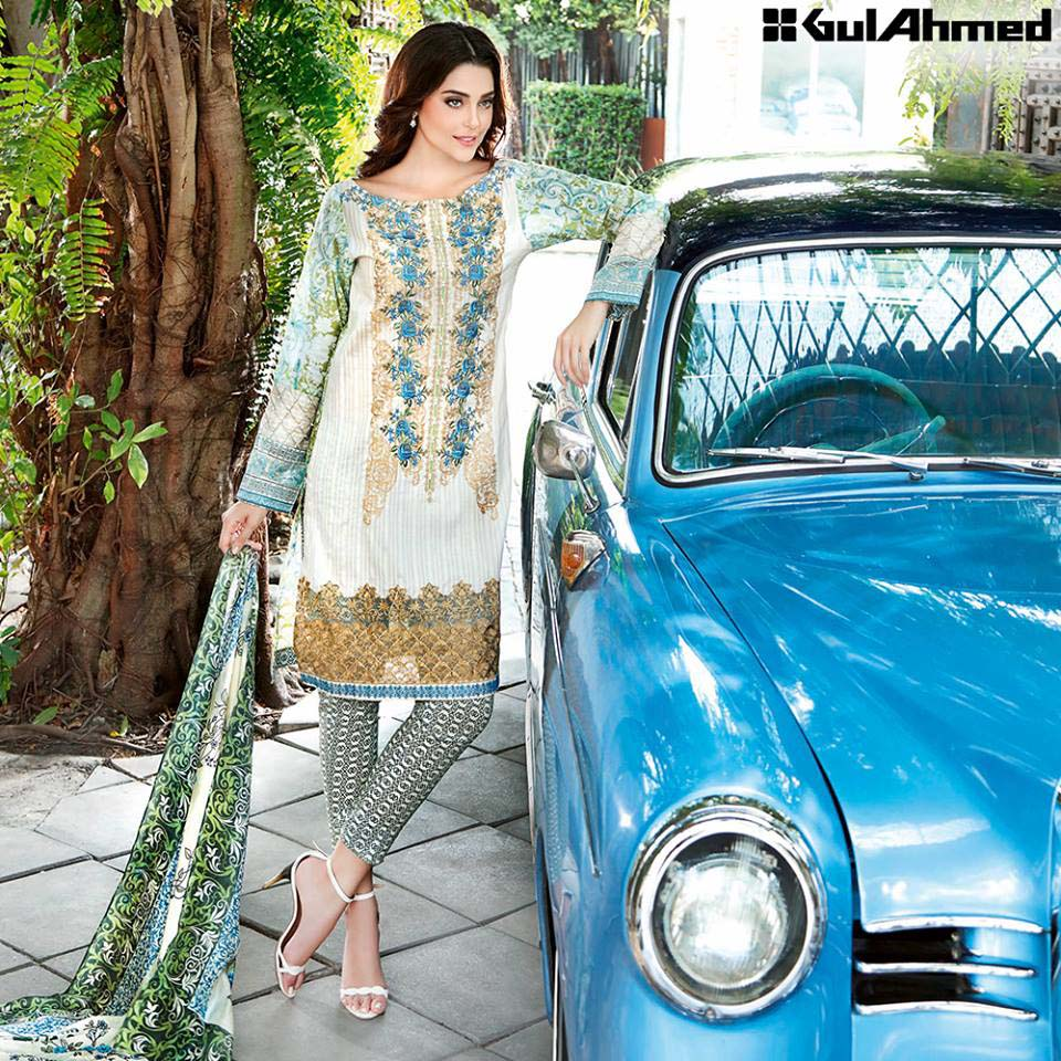 Gul Ahmed Festive Eid 2016 Trencia Satin Silk Collection (7)