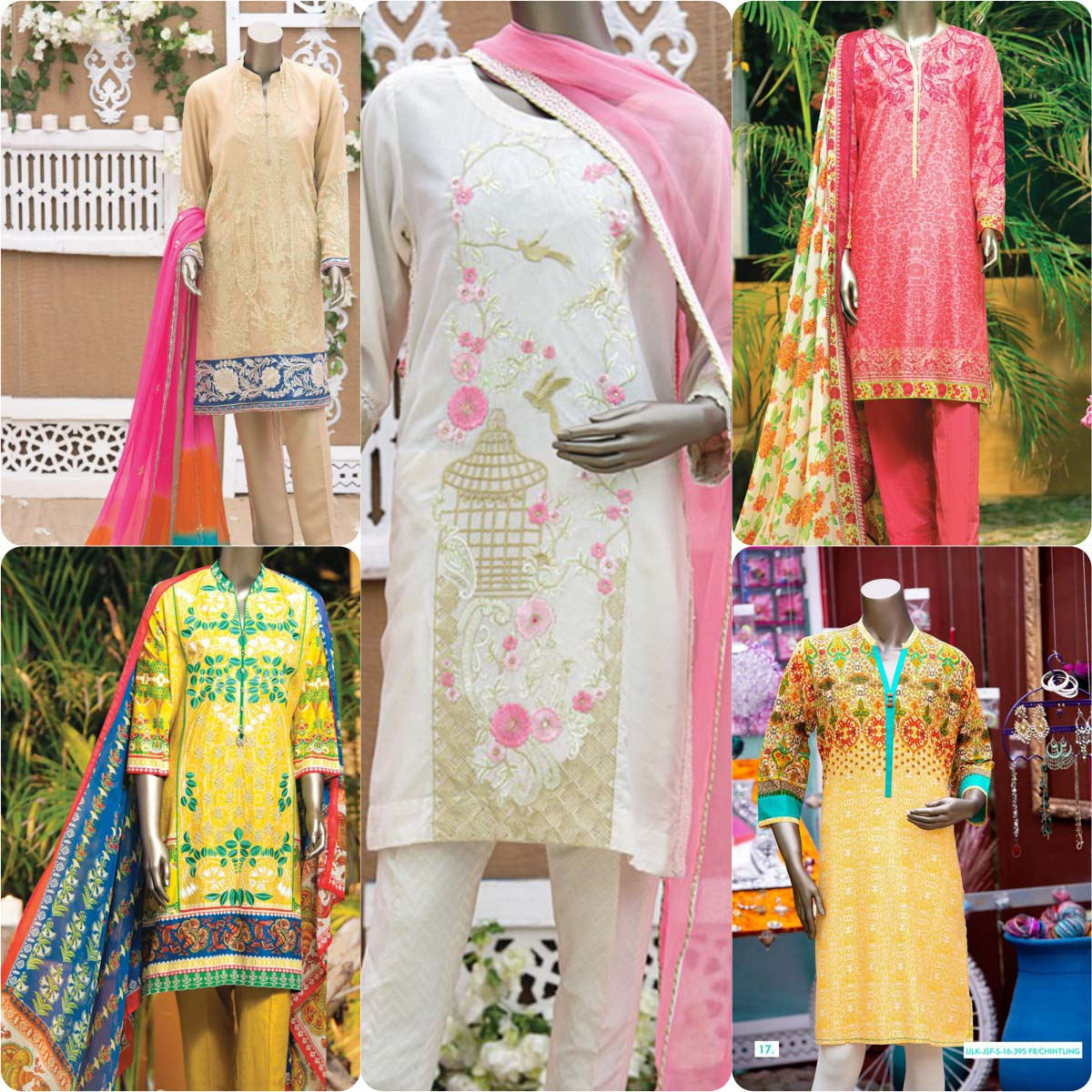 Junaid Jamshed Embrodiered Lawn Festive Eid Collection 2016-2017 (14)