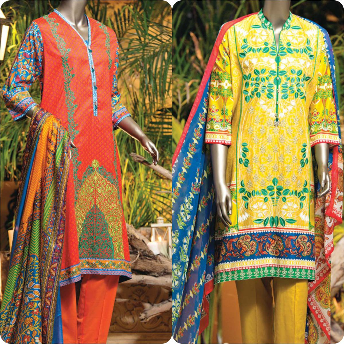 Junaid Jamshed Embrodiered Lawn Festive Eid Collection 2016-2017 (15)