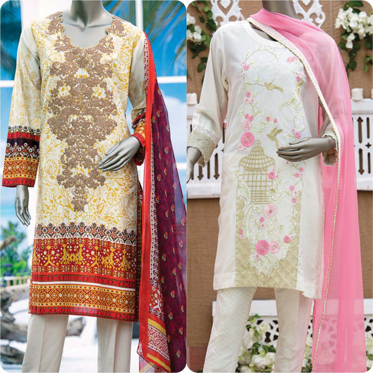 Junaid Jamshed Embrodiered Lawn Festive Eid Collection 2016-2017 (16)