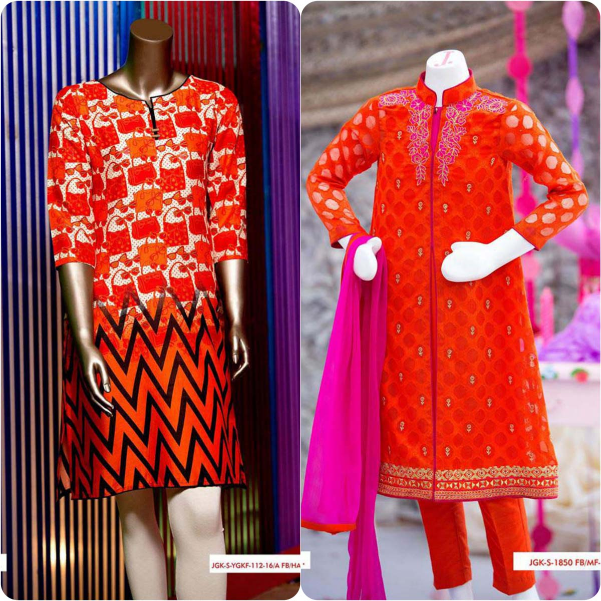 Junaid Jamshed Embrodiered Lawn Festive Eid Collection 2016-2017 (19)