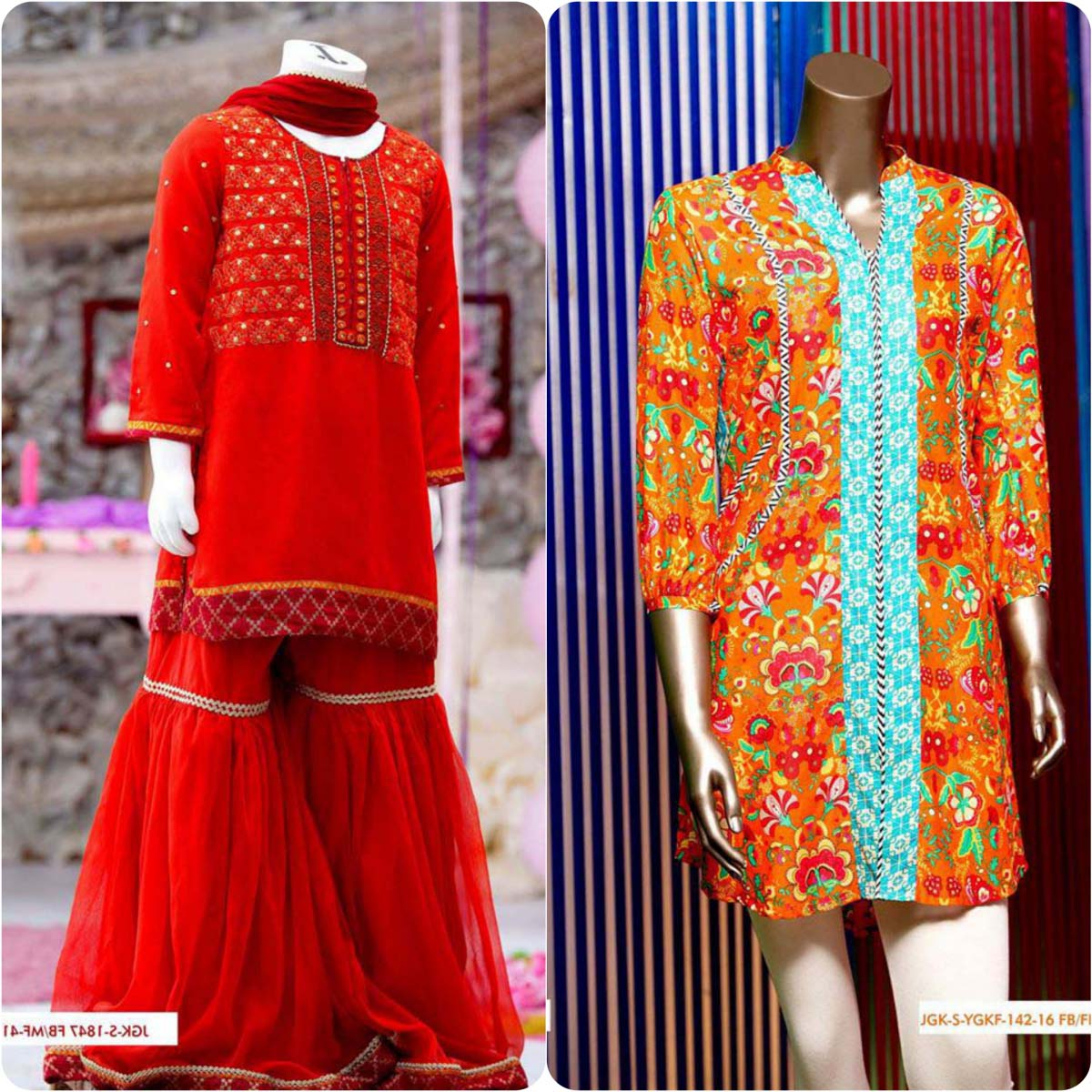 Junaid Jamshed Embrodiered Lawn Festive Eid Collection 2016-2017 (23)