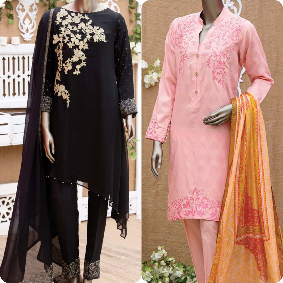 Junaid Jamshed Embrodiered Lawn Festive Eid Collection 2016-2017 (33)