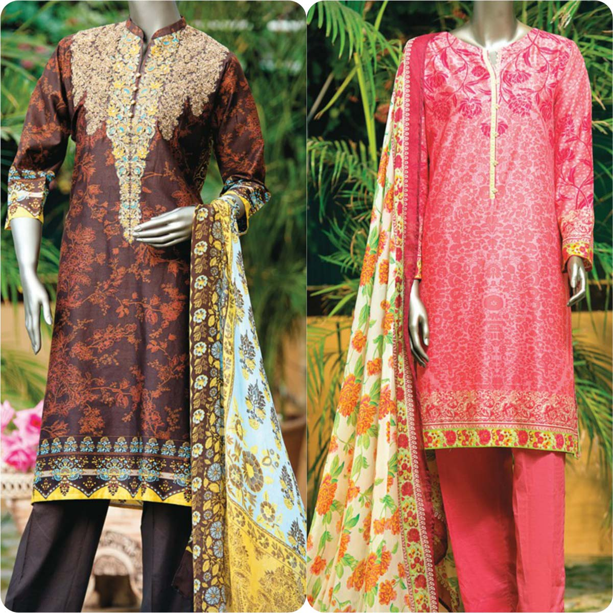 Junaid Jamshed festive eid dresses 2016 for women