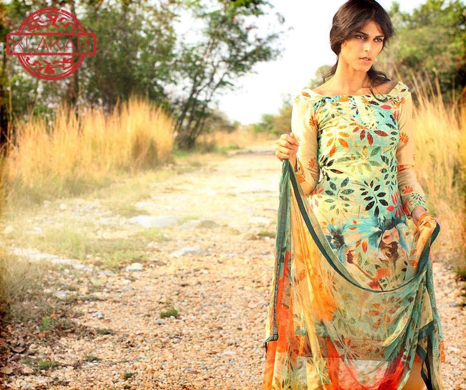 Klakari Eid Wear Lawn Dresses for Women 2016 With Prices (14)