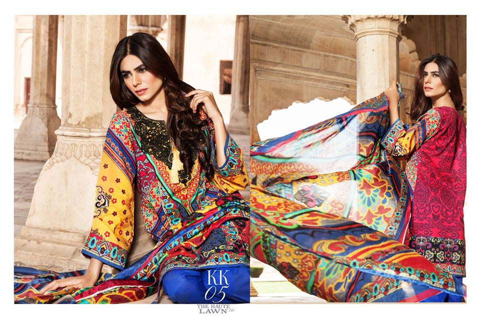 Klakari Eid Wear Lawn Dresses for Women 2016 With Prices (9)
