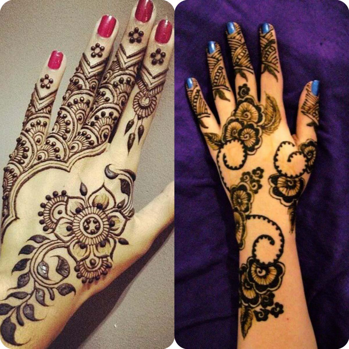 Best Henna Designs for Girls