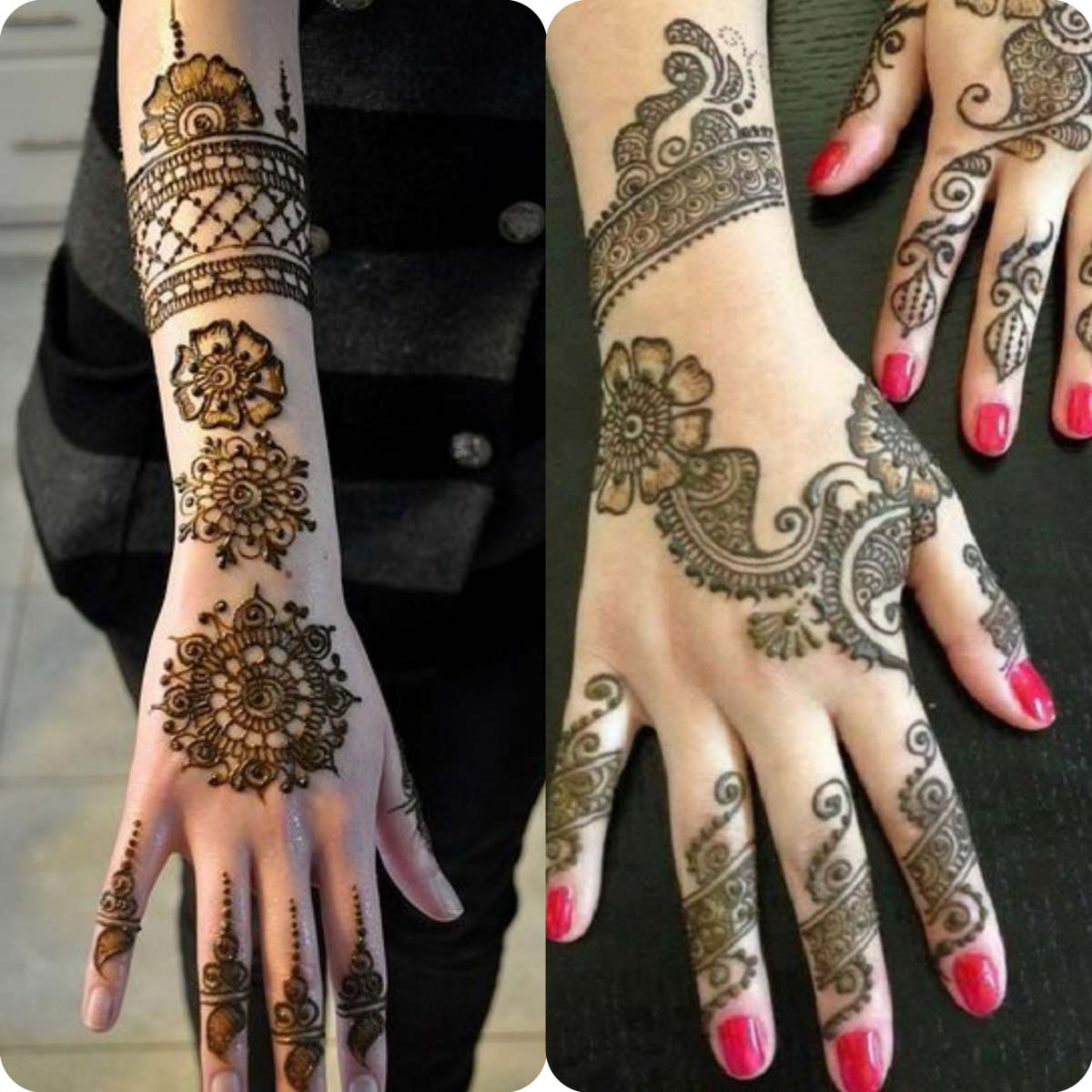 Latest Eid Mehndi Designs for Girls- Speical Eid Collection 2016 (13)