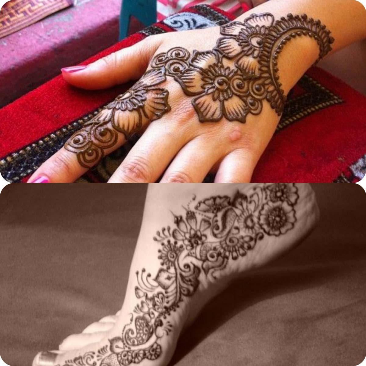 Latest Eid Mehndi Designs for Girls- Speical Eid Collection 2016 (9)