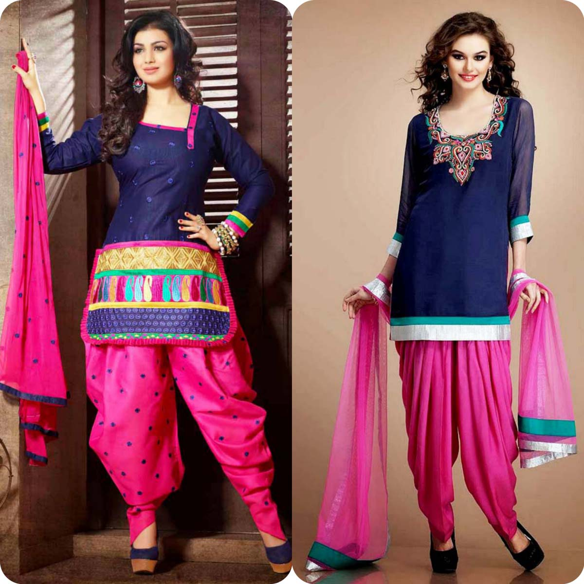 Latest Pakistani and Indian Patiala Shalwar Kameez Suits Designs (16)