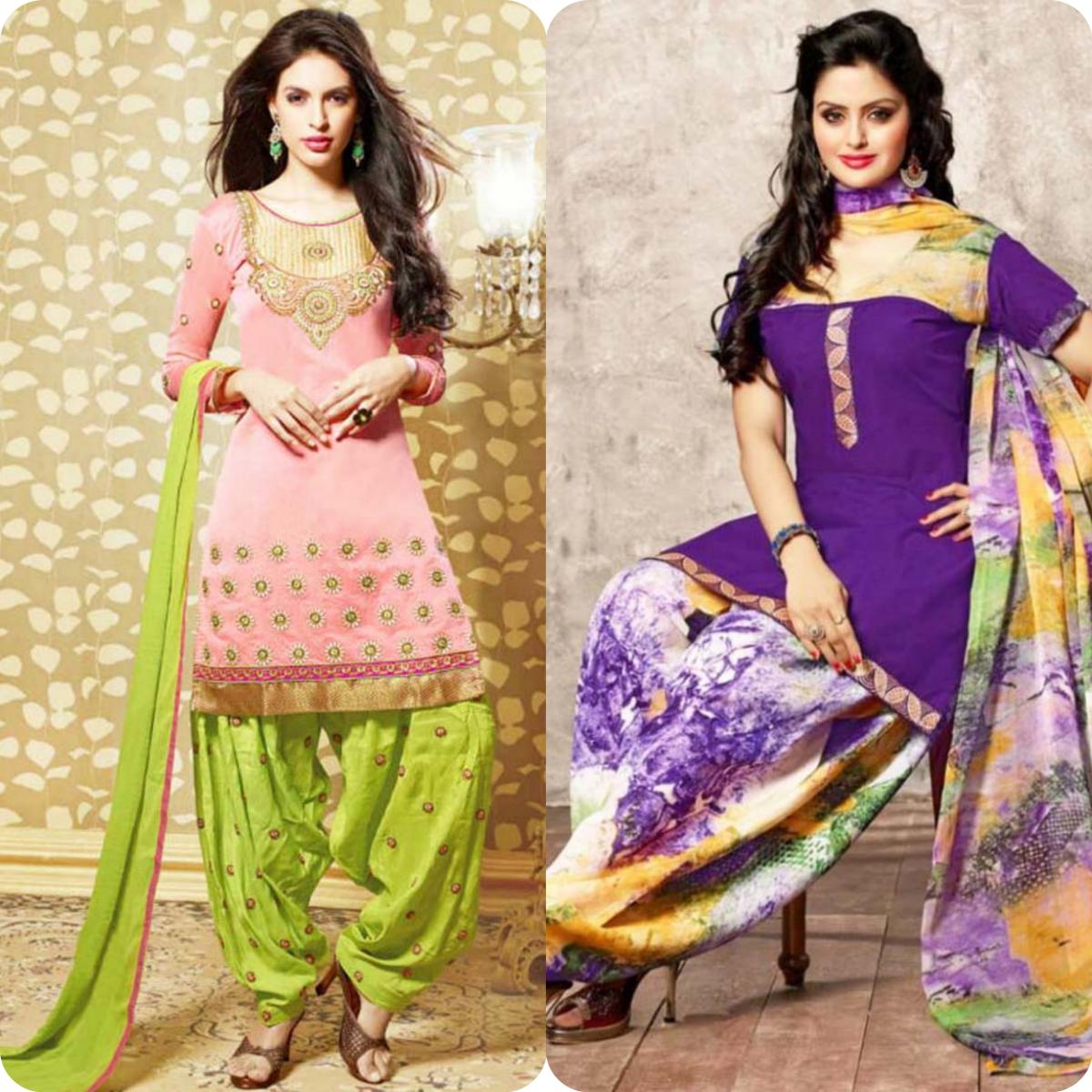 Latest Pakistani and Indian Patiala Shalwar Kameez Suits Designs (3)