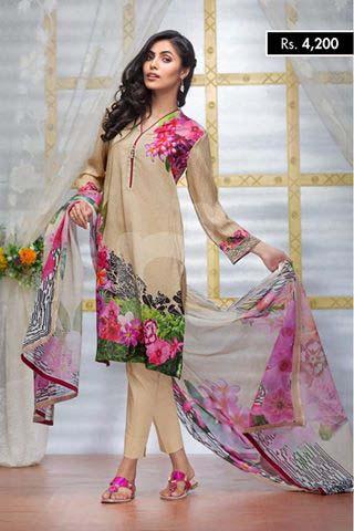 NISHA Eid Collection '16 Floral Essence (3)