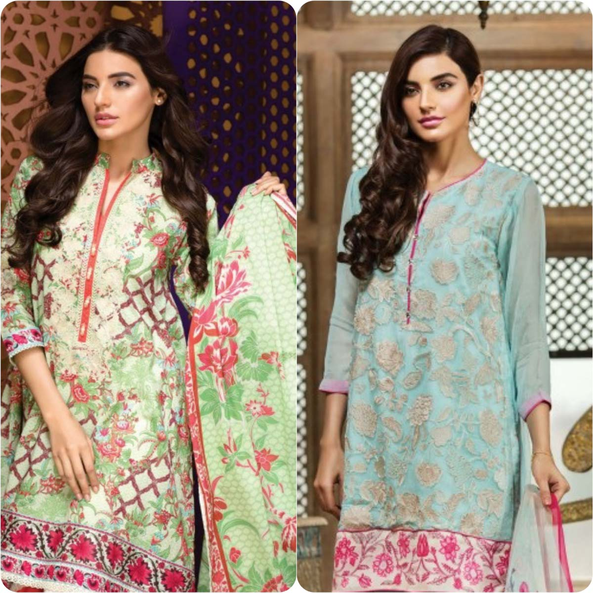 Stylish Embroidered Eid Suits Collection By Khaadi 2016-2017 (11)