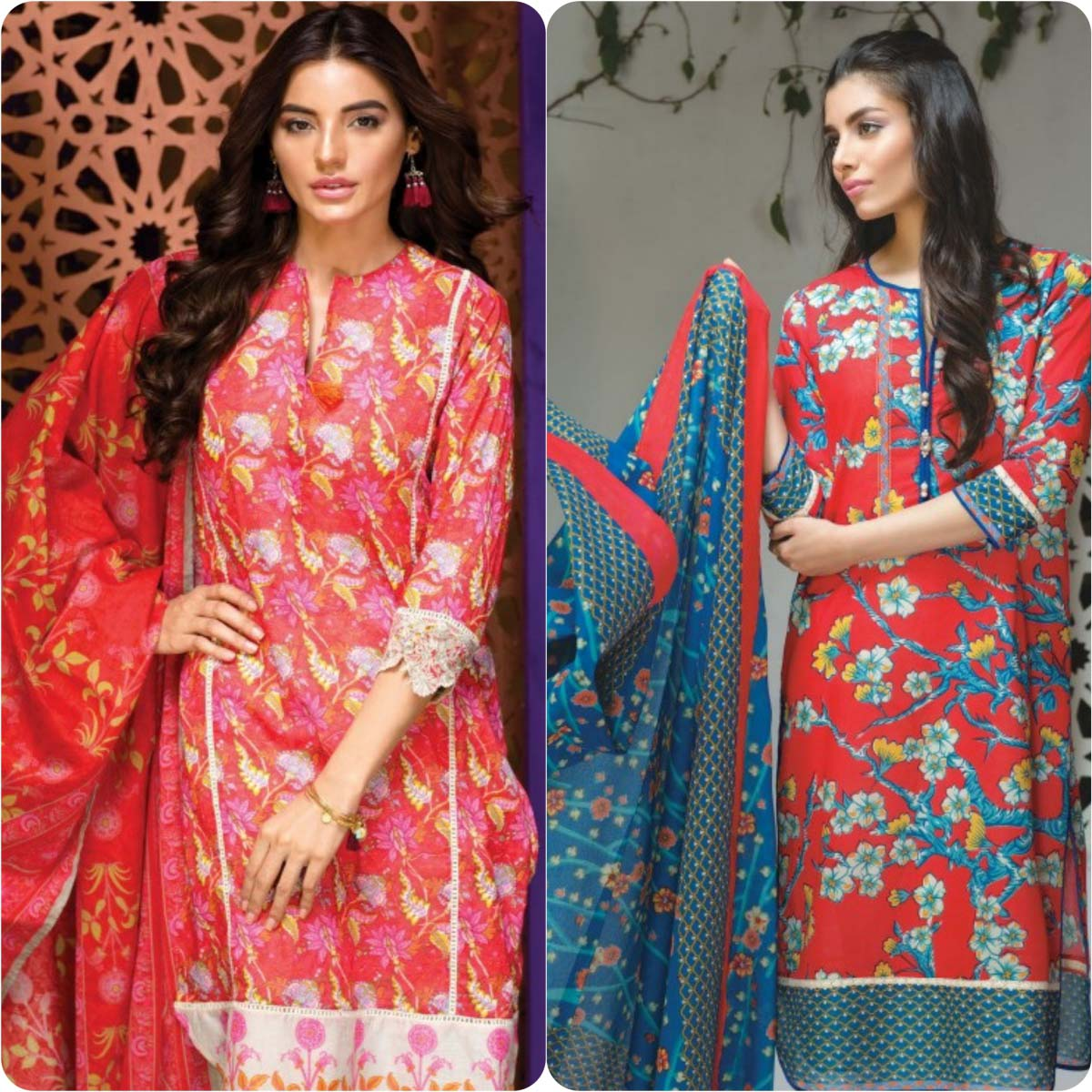 Stylish Embroidered Eid Suits Collection By Khaadi 2016-2017 (12)