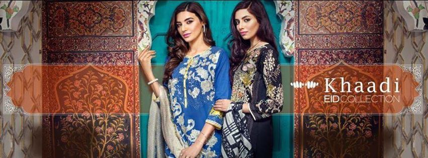 Stylish Embroidered Eid Suits Collection By Khaadi 2016-2017 (16)