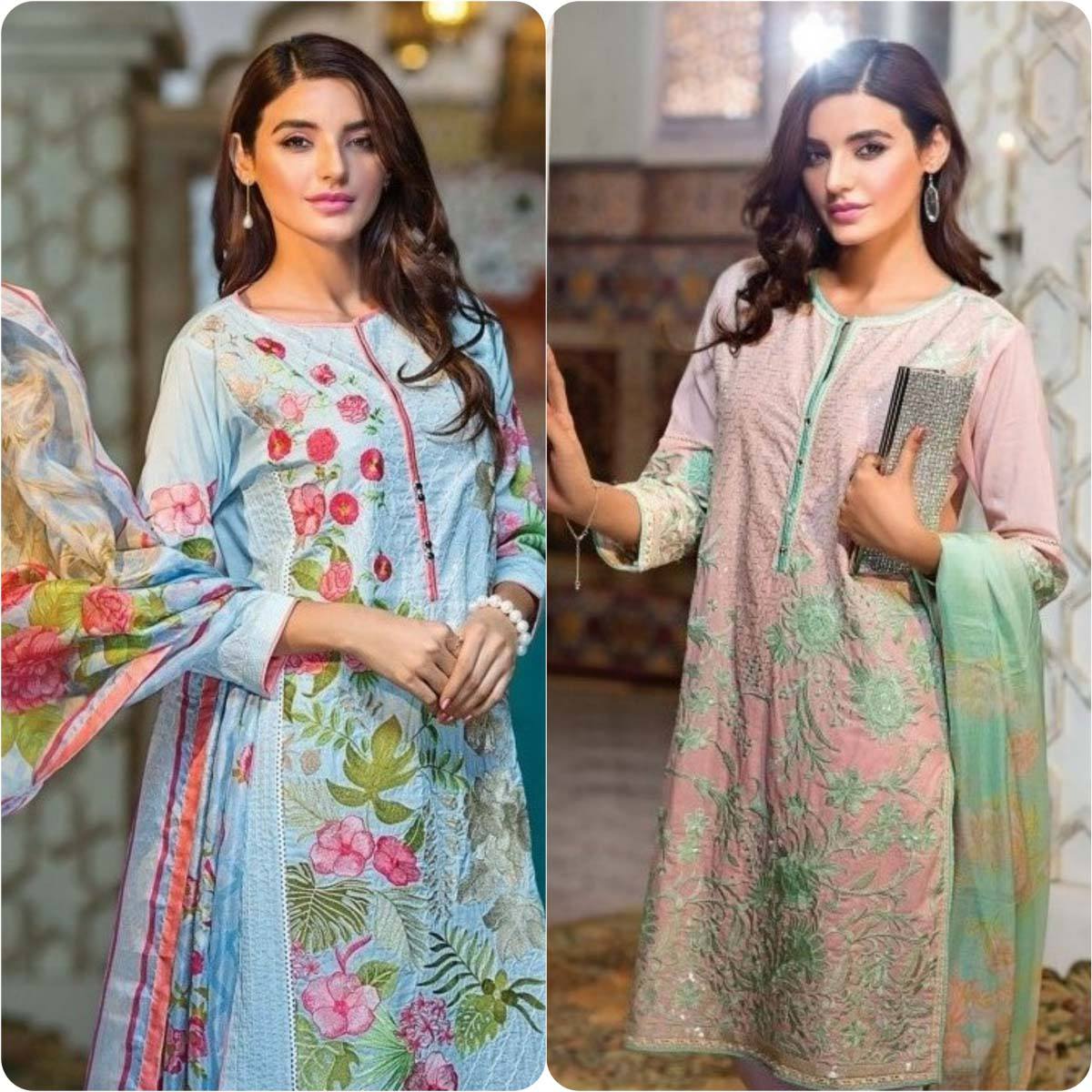 Stylish Embroidered Eid Suits Collection By Khaadi 2016-2017 (18)