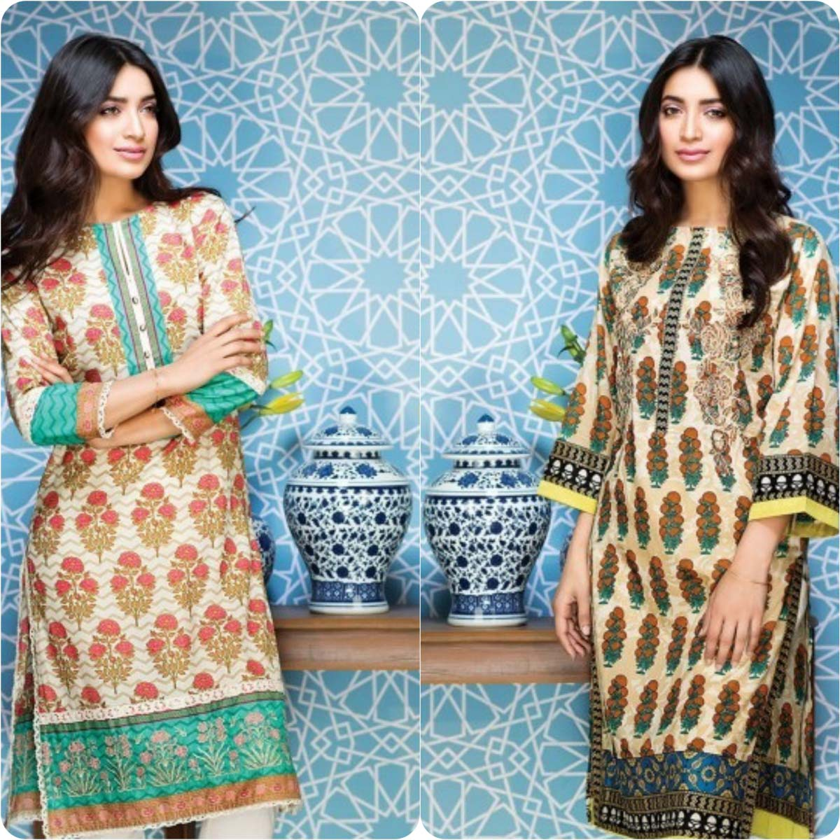 Stylish Embroidered Eid Suits Collection By Khaadi 2016-2017 (4)
