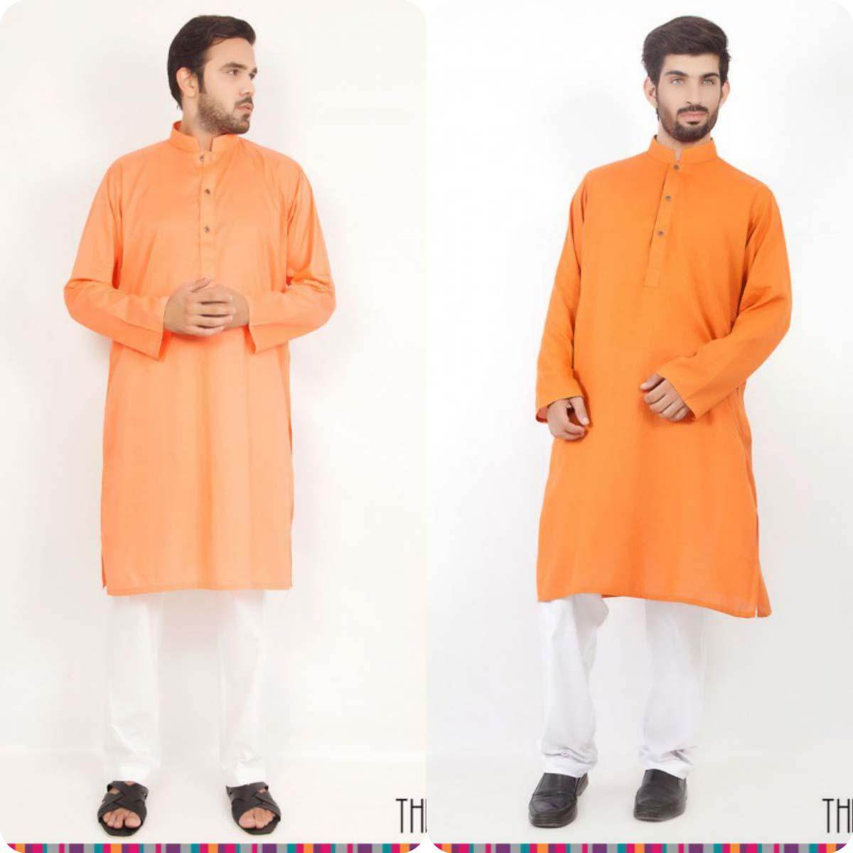 Thredz Menswear Summer Eid Kameez Shalwarkurta Designs Collection 2016-2107 (11)
