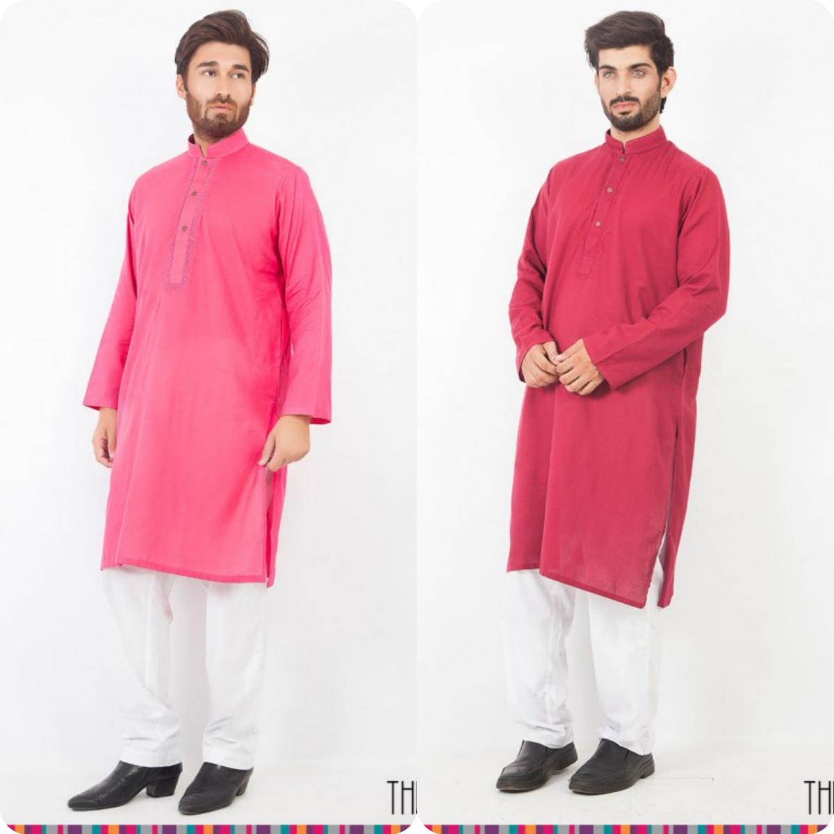 Thredz Menswear Summer Eid Kameez Shalwarkurta Designs Collection 2016-2107 (13)