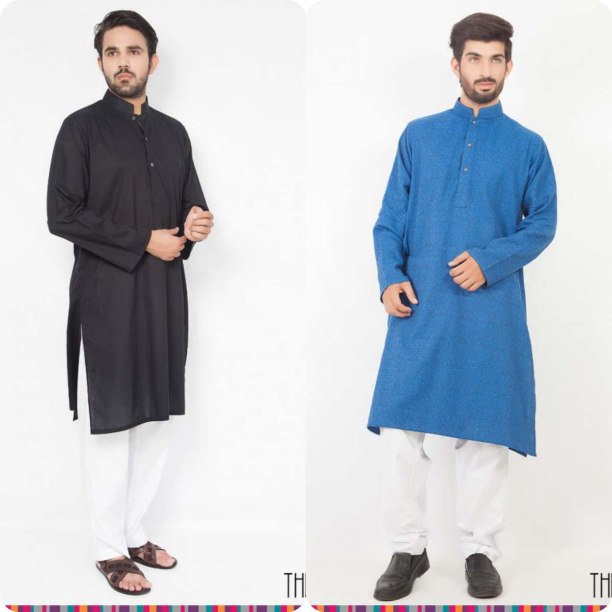 Thredz Menswear Summer Eid Kameez Shalwarkurta Designs Collection 2016-2107 (14)