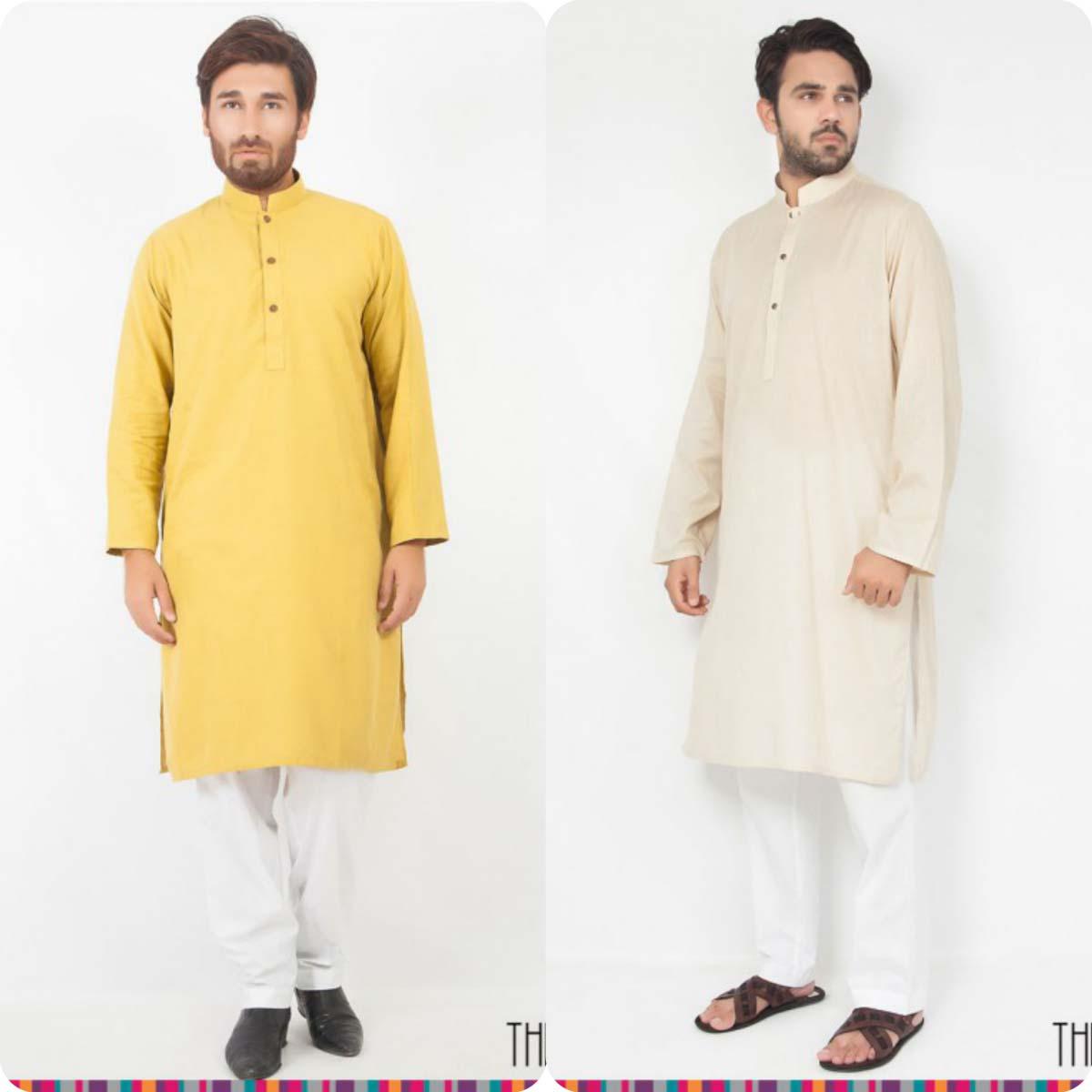 Thredz Menswear Summer Eid Kameez Shalwarkurta Designs Collection 2016-2107 (3)