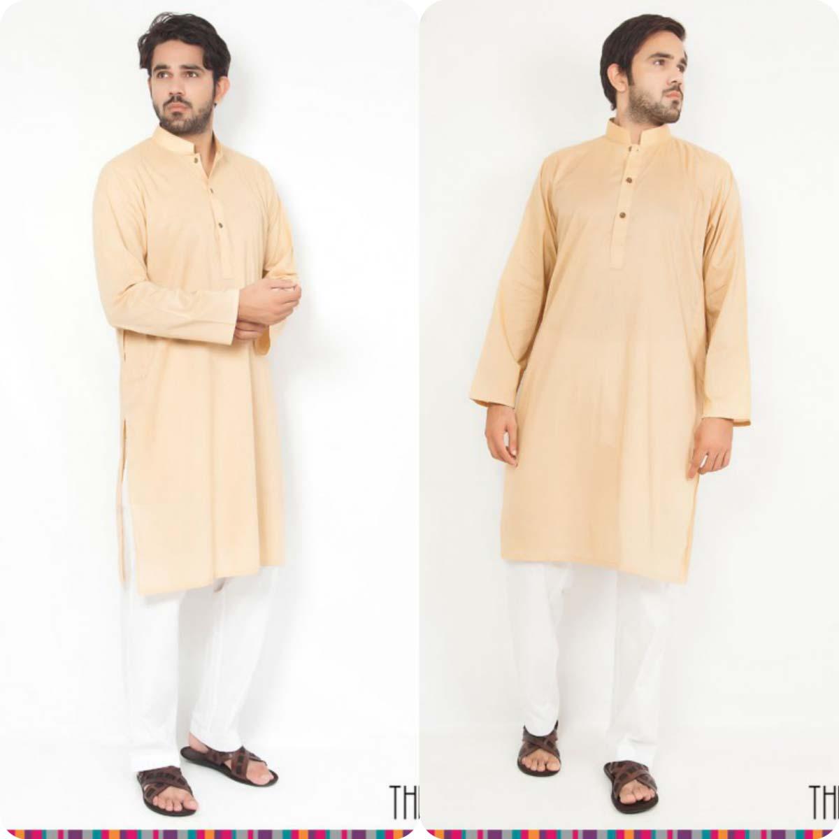 Thredz Menswear Summer Eid Kameez Shalwarkurta Designs Collection 2016-2107 (5)
