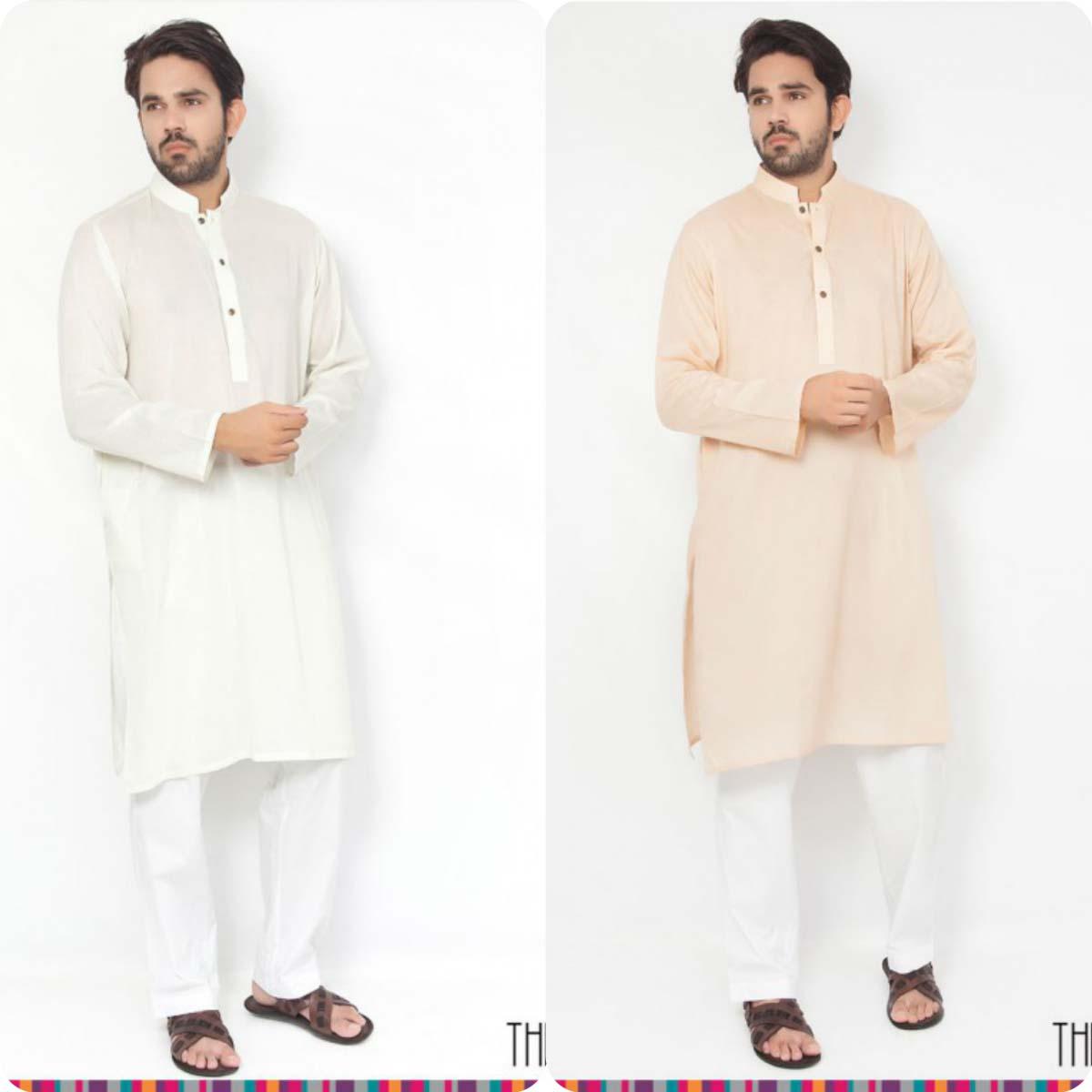 Thredz Menswear Summer Eid Kameez Shalwarkurta Designs Collection 2016-2107 (9)