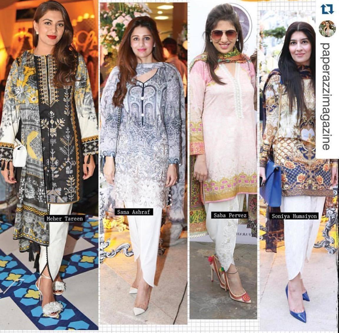 Top 8 Best Designers Tulip Shawar Designs For Girls 2016'17 (15)