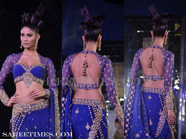 Backless Full Sleeves style (2)