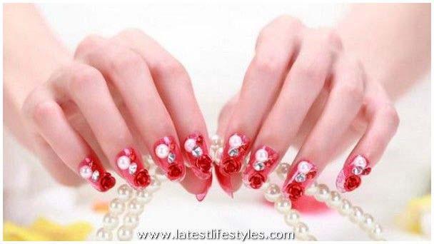 Nail Polish Color for Brides