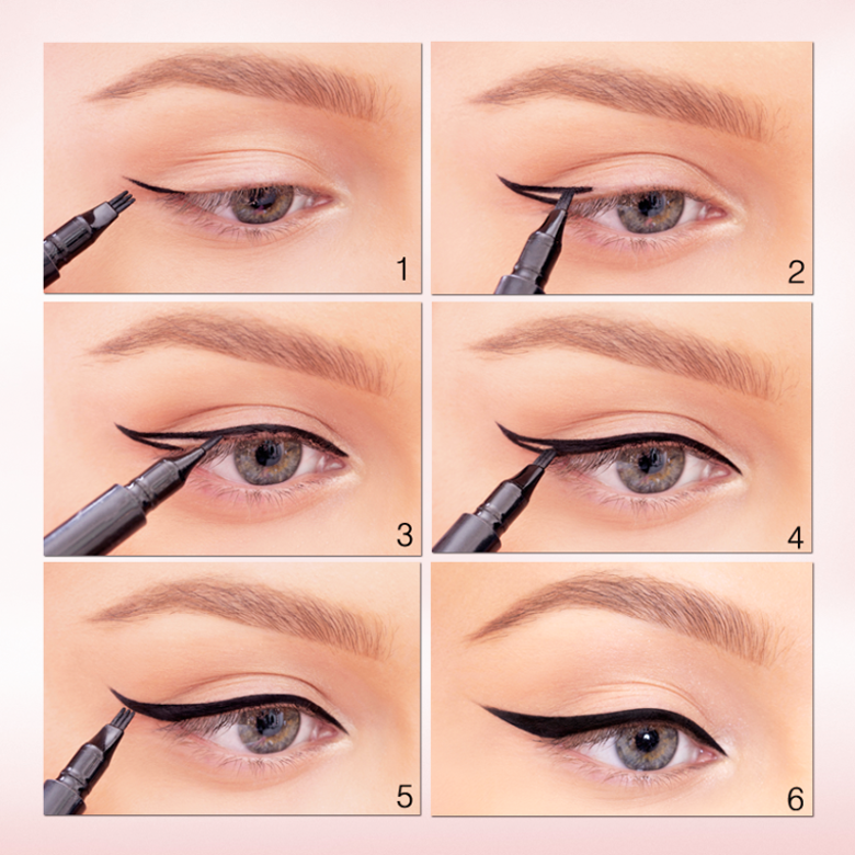 DIY 5 Different Eyeliner Styles For Beginners With Steps & Complete Tutorial (1)