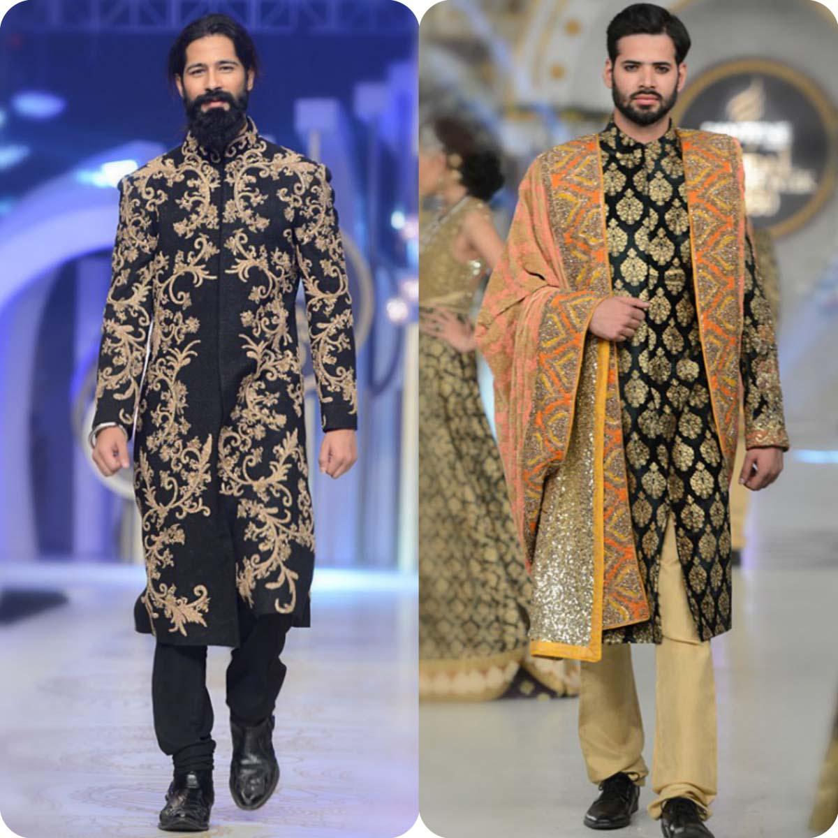 HSY Men Wedding Wear Sherwani Designs 2016-2017