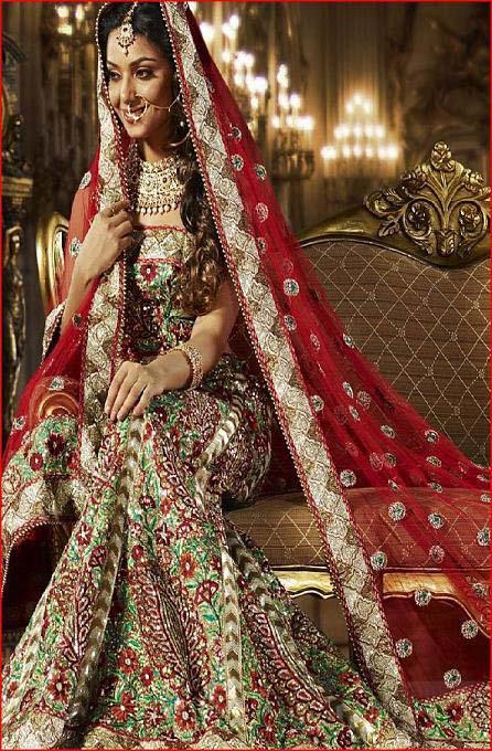 How To Set Bridal Dupatta? Draping Style of Bridal Dupatta